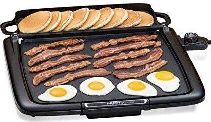Presto Cool-Touch Electric Griddle Plus Spatula
