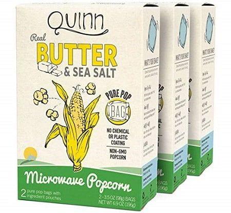 Quinn Non-GMO Microwave Popcorn
