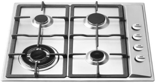 Ramblewood 4-Burner Natural Gas Cooktop
