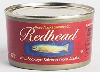 Redhead Wild Alaska Sockeye Canned Salmon
