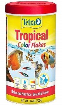 Tetra TetraColor Tropical Flakes with Natural Colour Enhancer