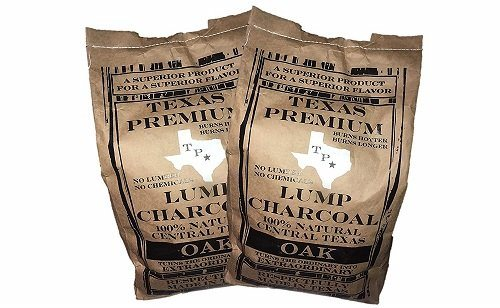 Texas Premium Natural Lump Charcoal