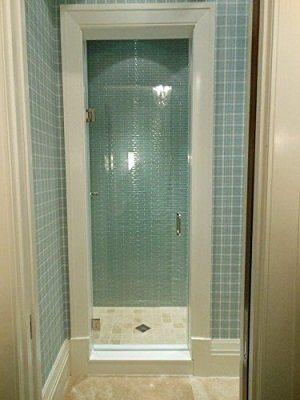 Tropical Art Glass Inc. Frameless Shower Door