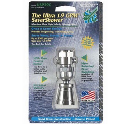 Whedon USP29C Deluxe Low Flow Shower Head