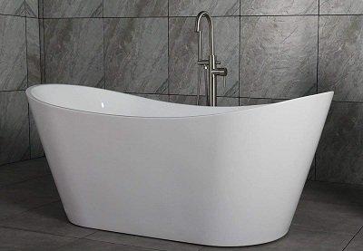 WoodBridge BTA-1515 Acrylic Freestanding Tub