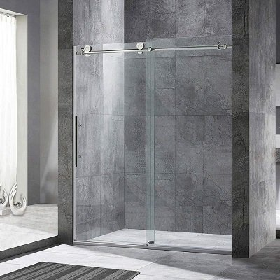 Woodbridge Frameless Sliding Shower Door