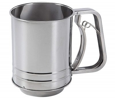 Baker's Secret Stainless Steel Flour Sifter