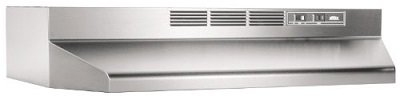 Broan 413004 Non-Ducted Stainless Steel Range Hood
