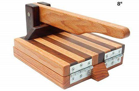 Central Coast Woodworks Hardwood Tortilla Press