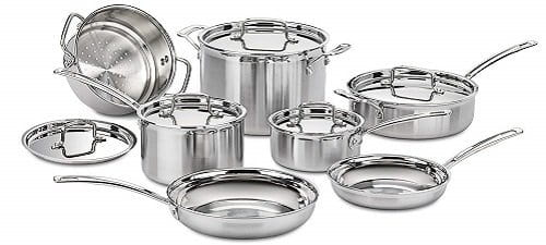Cuisinart MCP-12N Stainless Steel Induction Cookware