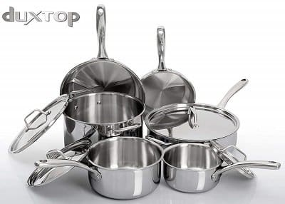 Duxtop Tri-Ply Stainless Steel Induction Cookware