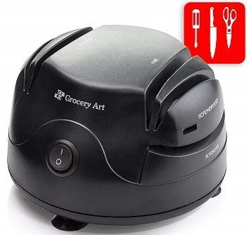 Grocery Art 3-In-1 Electric Knife Sharpener
