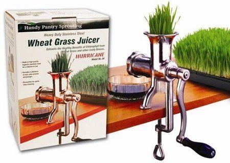 Handy Pantry HJ Hurricane Manual Wheatgrass Juicer