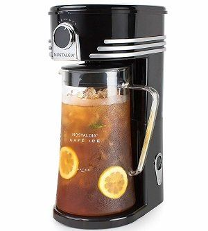 Nostalgia C13BK 3-Quarts Coffee & Iced Tea Maker