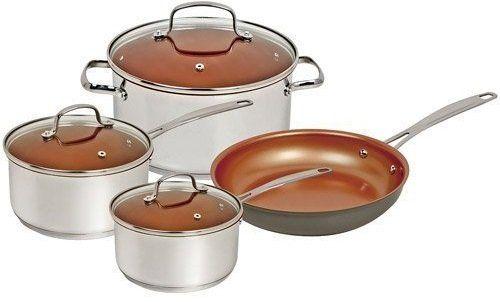 Nuwave Ceramic Non-stick Induction Cookware Set