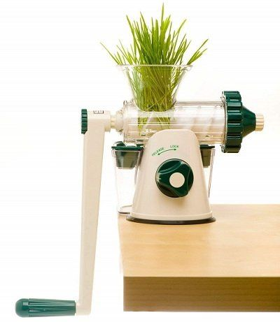 The Original Healthy Juicer Lexen GP27 Manual Wheatgrass Juicer