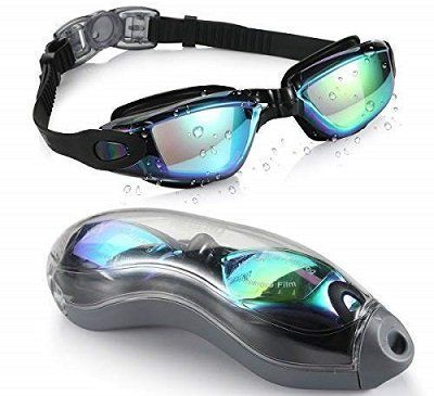 Aegend Swimming Goggles with Free Protection Case
