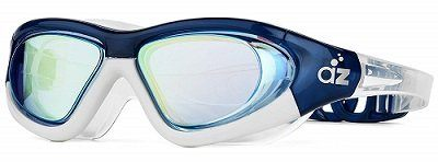 Aquazone Swimming Goggles with Wide Hard Frame
