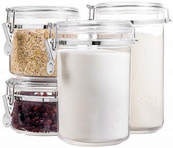 Bellemain 4-Piece Acrylic Airtight Container Set