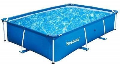 Bestway Deluxe Splash Frame Kids Above Ground Pool