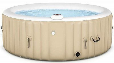 Goplus Outdoor Spa Inflatable Hot Tub