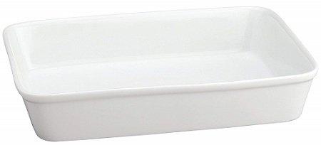 HIC White Porcelain Ceramic Lasagna Pan