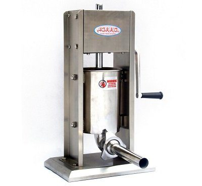 Hakka All-Stainless-Steel 7-Lbs Sausage Stuffer