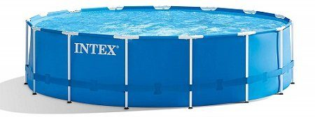 Intex Metal Frame Above Ground Pool Set