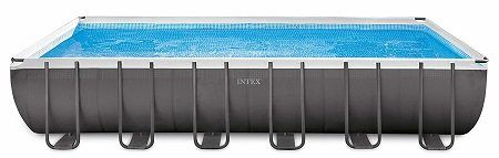 Intex Ultra Frame Rectangular Above Ground Pool Set