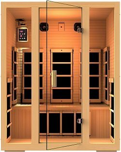 JNH Lifestyles Joyous 3-Person Far Infrared Sauna