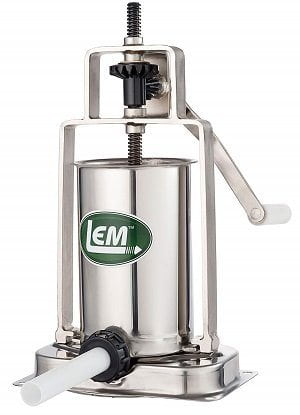 LEM Products Stainless Steel 5-Pound Sausage Stuffer