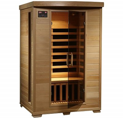 Radiant Saunas 2-Person Hemlock Infrared Sauna