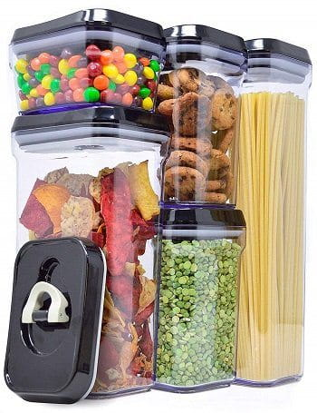 Royal air-Tight 5-Piece Durable Airtight Containers