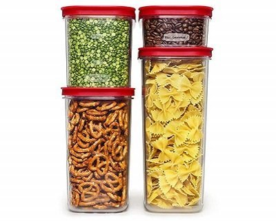 Rubbermaid Modula Storage Set of 4 Airtight Containers