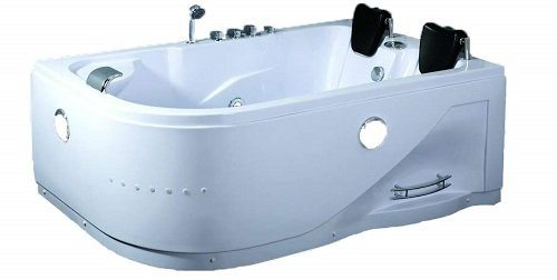 Symbolic Spas Corner Whirlpool Tub