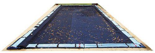Blue Wave Rectangular Leaf Net InGround Pool Cover