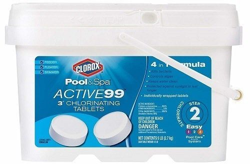 Clorox Pool&Spa Active99 Chlorine Tablet