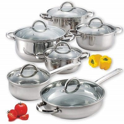 Cook N Home NC-00250 Stainless Steel Gas Stove Cookware