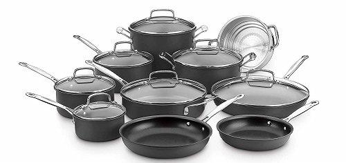 Cuisinart 66-17N 17-Piece Gas Stove Cookware Set