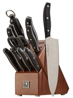 J. A. Henckels 12-Piece Block Knife Set