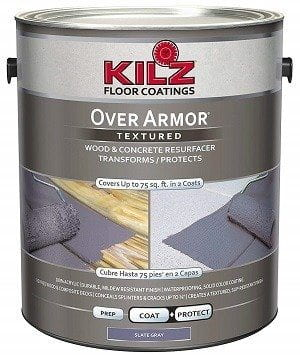 Kilz Over Armor Wood/Concrete Coating