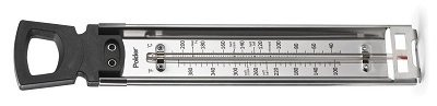 Polder Stainless Steel Liquid-Filled Candy Thermometer