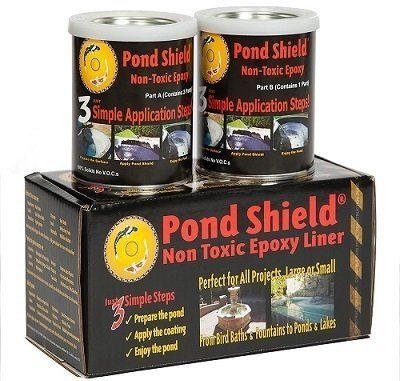 Pond Armor SKU-CBLUE-QT-R Non-toxic Epoxy Pool Paint