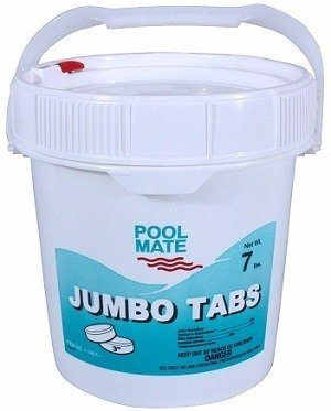 Pool Mate Jumbo 3-inch Chlorine Tablet