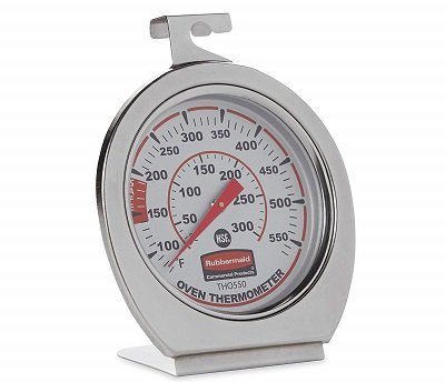 Rubbermaid FGTHO550 Stainless Oven Thermometer