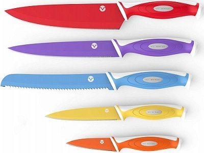Vremi Colorful 10-Piece Knife Set