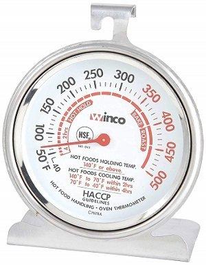 Winco TMT-OV3 3-Inch Dial Oven Thermometer