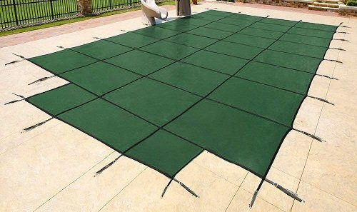 Yard Guard Green Mesh Inground Pool Cover