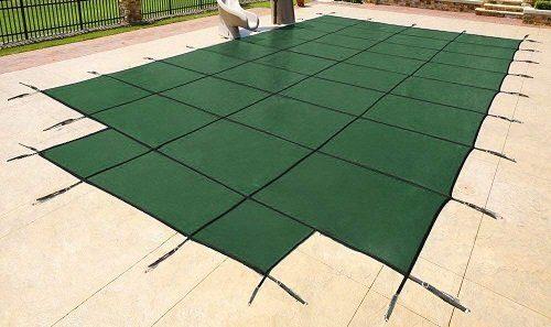 Yard Guard Green Mesh Inground Pool Cover