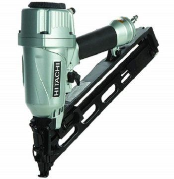 Hitachi 15-Gauge Finish Nailer with Duster